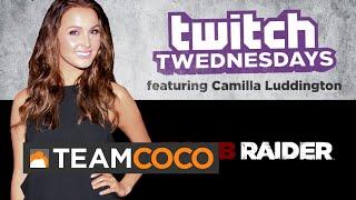 Twitch Twednesday Highlight 10/8/14 - Camilla Luddington  - CONAN on TBS