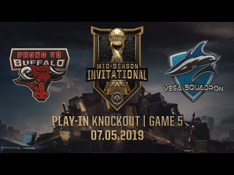 PVB vs VEG [MSI 2019][07.05.2019][Play-in Knockout][Game 5] - Thời lượng: 1:07:29.