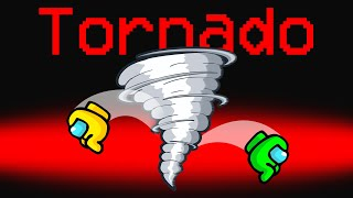 WE ADDED A TORNADO Role To Among Us!