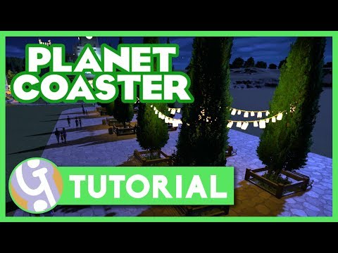 Pathing Tips & Tricks | Planet Coaster Tutorial