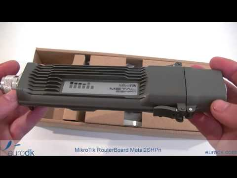 MikroTik RouterBoard Metal 2SHPn QUICK UNBOXING & SPECIFICATIONS HD