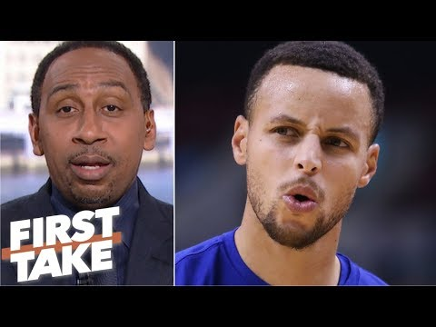 Stephen A.'s choice of Steph Curry over Magic Johnson sparks a heated debate  First Take