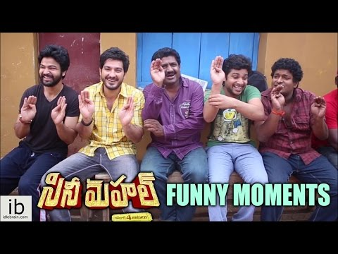 Cine Mahal funny moments on the sets