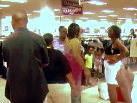 Ghetto - Ghetto fight between women at a Burlington Coat Factory in mall Dallas Tx.
