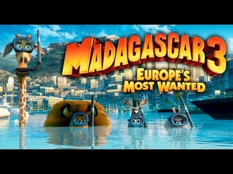 Madagascar 3: Europe's Most Wanted (Clip 'Not First Class')