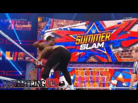 The New Day vs The Usos SmackDown Tag Team Championship Match  WWE SummerSlam Live 20 August 2017
