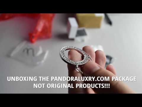 PANDORALUXRY.COM - UNBOXING - FAKE WEBSITE! FAKE PRODUCTS! PANDORA JEWELLERY FROM CHINA