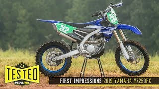 6. First Impressions: 2019 Yamaha YZ250FX