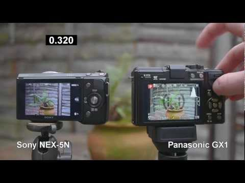 Panasonic Lumix DMC-GX1 review vs. Sony NEX 5n