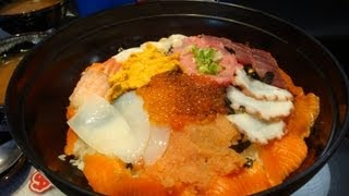 Video Huge Sashimi Bowl Challenge (Record Set) MP3, 3GP, MP4, WEBM, AVI, FLV November 2017