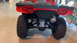 3. 2019 Polaris Sportsman 450/450 EPS Indy Red