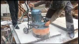 Мозаично-шлифовальная машина в Аренду.Шлифовка ступенек из мраморной крошки