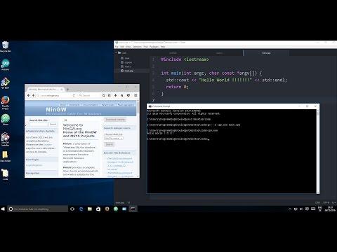 How To install MinGW on Windows 10 (GCC & G++)