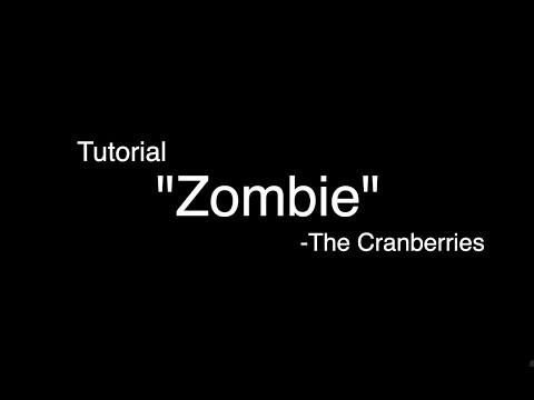 7RL #4 Tutorial Guitar Fingerstyle Petikan Gitar Zombie by The Cranberries