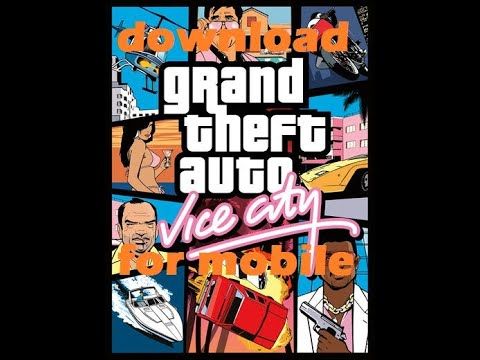 I How to download GTA Vice City game for mobile with cheater I