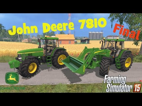 John Deere 7810 Washable Final