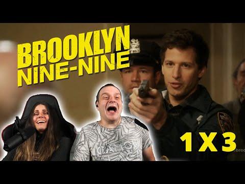 """Brooklyn Nine-Nine 1x3 """"The Slump"""" REACTION"""