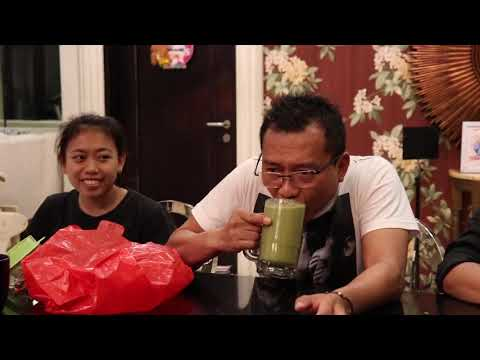 "THE HERMANSYAH - SMOOTHIE CHALLENGE, MAS ANANG ""INI NGGILANI BANGET"" 