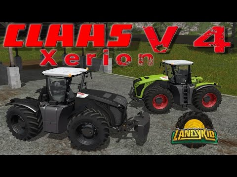 Claas Xerion 4000-5000 (3rd generation) v6.0 Final