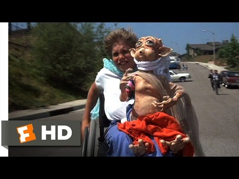 Mac and Me (9/11) Movie CLIP - Wheelchair Chase (1988) HD
