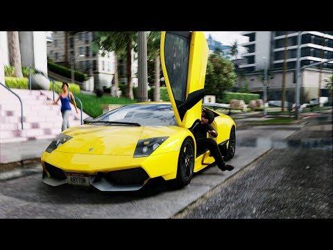 神人自製《俠盜獵車手5》4K超高清畫質外掛模組,細膩到爆的畫面眼睛都高潮了!