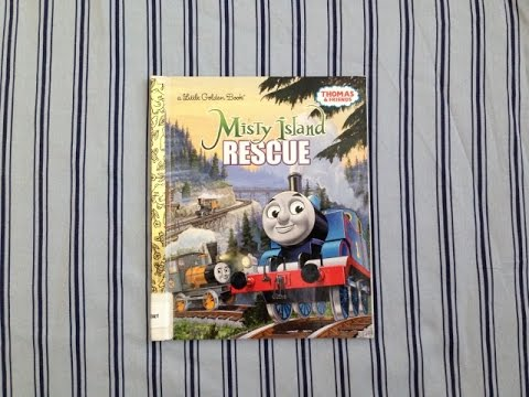 THOMAS AND FRIENDS, MISTY ISLAND RESCUE - Read Along Story Book - FOR CHILDREN - Train Talk for Kids