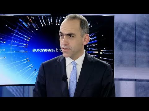 Ο Υπουργός Οικονομικών Χάρης Γεωργιάδης στο euronews