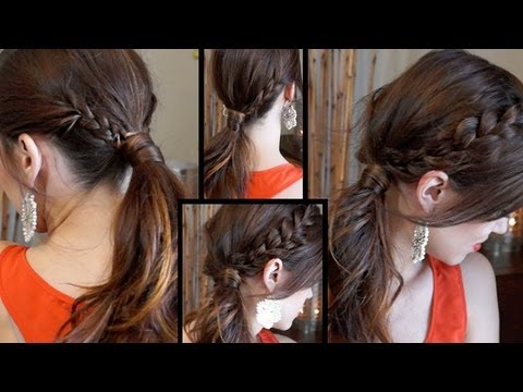 2 Fast Hairstyles For School or Work