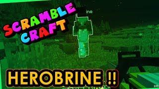 HAUNTED BY HEROBRINE!? - Scramble Craft (Minecraft)