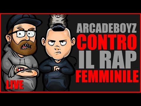 ARCADE BOYZ VS IL RAP FEMMINILE