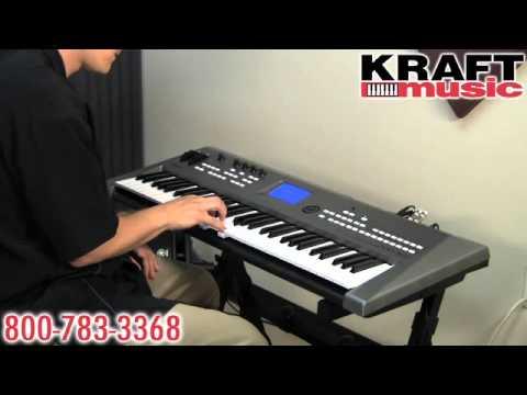Kraft Music - Yamaha MM6 and MM8 Demo with Tony Escueta