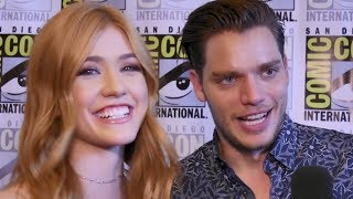 Today's episode is brought to you by T-Mobile. With unlimited data, you can fuel your fandom like never before on America's Fastest Unlimited LTE Network. Nobody does unlimited like T-Mobile. http://bit.ly/2uAVOhvMore Celebrity News ►► http://bit.ly/SubClevverNewsShadowhunters' Kat McNamara and Dom Sherwood spill spoilers on major character deaths coming up on the show at SDCC 2017.For More Clevver Visit:There are 2 types of people: those who follow us on Facebook and those who are missing out http://facebook.com/clevverKeep up with us on Instagram: http://instagr.am/ClevverFollow us on Twitter: http://twitter.com/ClevverTVWebsite: http://www.clevver.com Add us to your circles on Google+: http://google.com/+ClevverNewsTweet Me: http://www.twitter.com/
