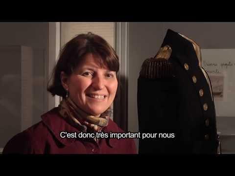 Autour d'une oeuvre : l'habit de l'amiral Nelson