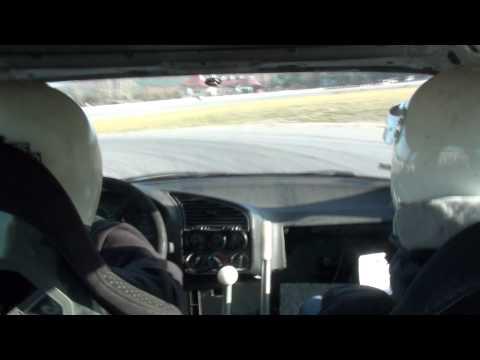 BMW E36 344 V8 onboard - SuperOes - Puchar Jesieni 2011