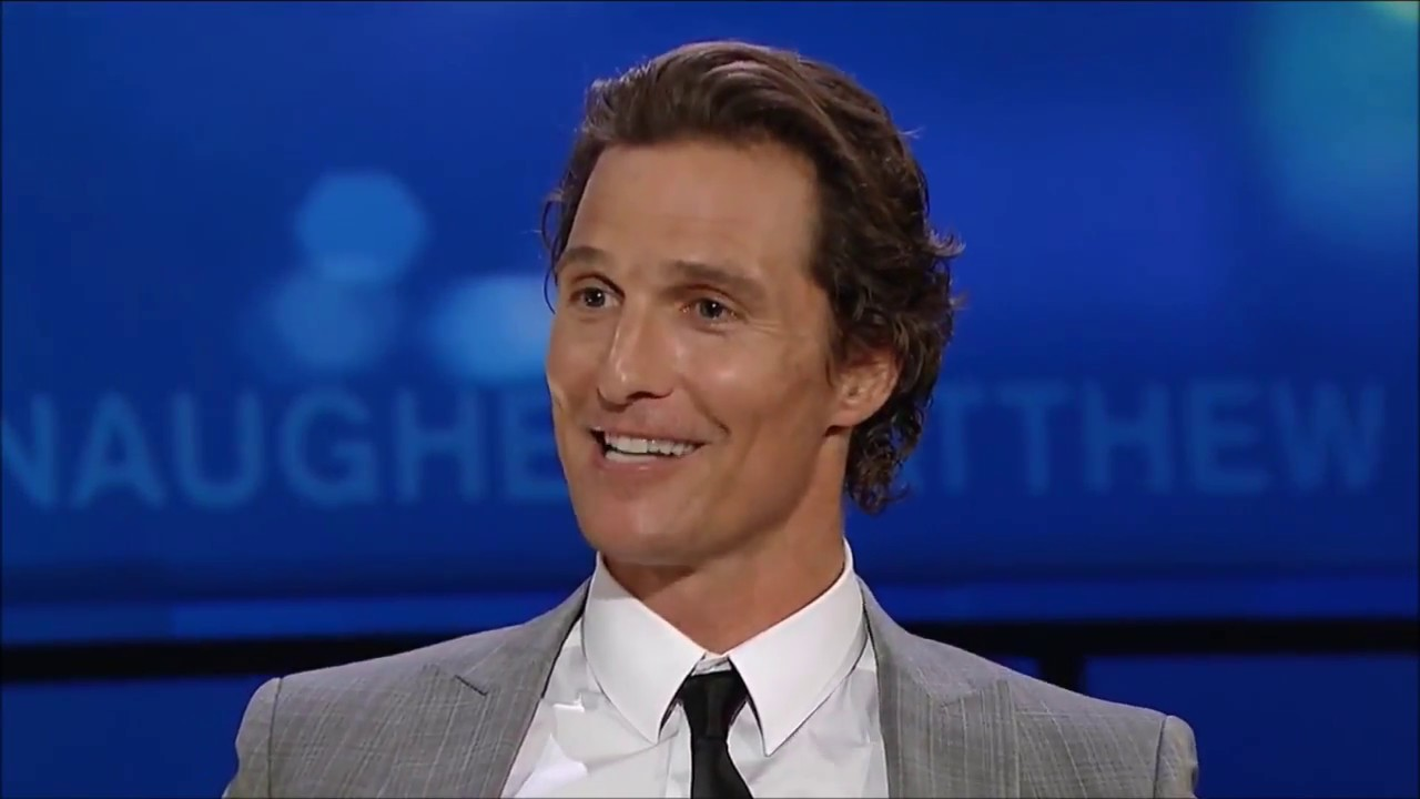 Matthew McConaughey Talks