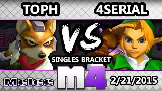 So a link took a match off Toph's fox in tournament