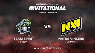 Team Spirit против Natus Vincere, Вторая карта, CIS квалификация SL i-League Invitational S3