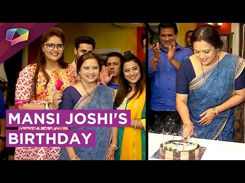 Dhai Kilo Prem cast CELEBRATES Mansi Joshi's Birth