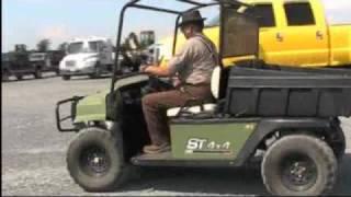 8. EZGO Utility Vehicle ST4x4