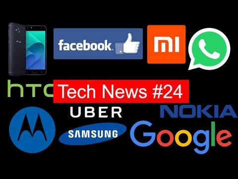 Tech News #24 Whatsapp Photo Filers, Coolpad Play 6,windows 10 pro, moto x4 ,lg q6 pro,htc u11 life