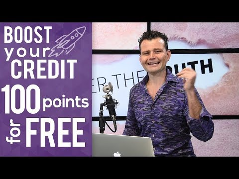 How to Boost Credit Score 65 Points in 5 Minutes for Free