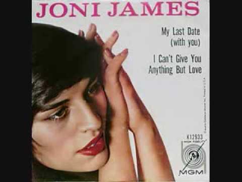 Tekst piosenki Joni James - My Last Date (With You) po polsku