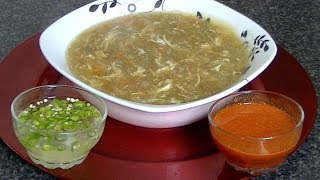 HOT & SOUR SOUP - ہاٹ اینڈ سار سوپ - हॉट एंड सर सूप *COOK WITH FAIZA* By Faiza Zarif FOR FULL INGREDIENTS AND ...