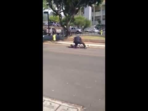 白目男違規落跑笑胖警察「來追我啊」 結果悲劇了!