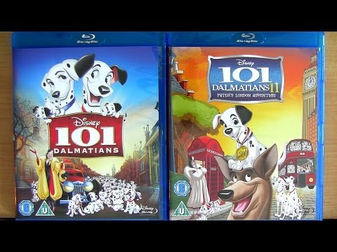 101 Dalmatians 2 blu ray unboxing review Patch's London Adventure Disney