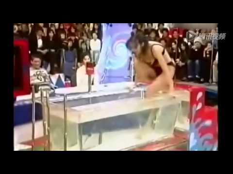 日本重口味綜藝節目中熱水
