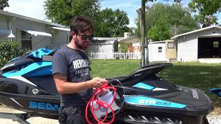 5. Sea Doo Rotax 4 Stroke Oil Change