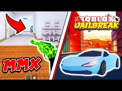 Roblox JAILBREAK and MURDER MYSTERY X LIVE!! New MMX Update!   Roblox Live