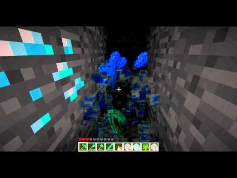 Добыча алмазов в Minecraft
