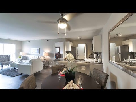 A Glenmore model 2-bedroom, 2-bath apartment in Aurora at Hunter's Glen